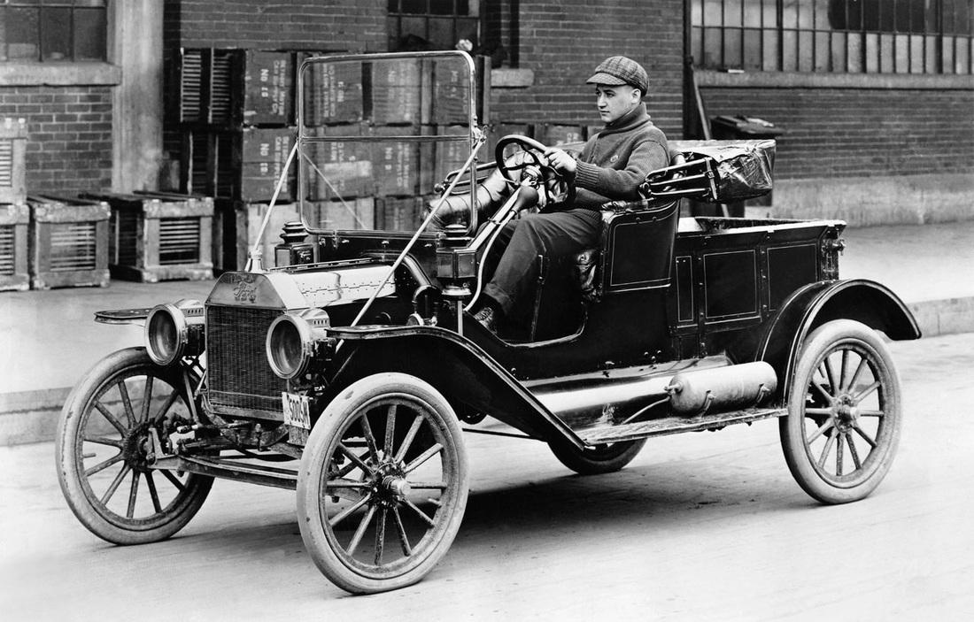 Cars - Transport in Times Past
